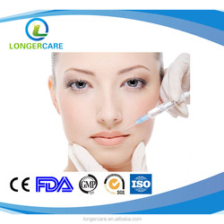 Dermal Filler Hyaluronic Acid with CE Certificates Cross-linked injectable face use filler