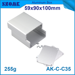 beautiful anodizing aluminum alloy material custom colorful aluminium box in best quality with oxidation