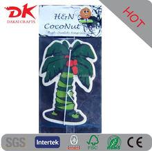 Manufacturer Cheap Customise Fragrance Paper Air Freshener for Car