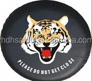 14-17 inches PVC imitation leather spare tire cover
