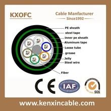 Factory price 12 core 24 core direct burial Optic Fiber Cable / fiber optical cable / optical fiber cable price - GYTA53