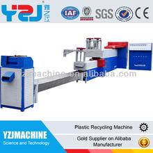 pe pp reciclado de plástico de la máquina