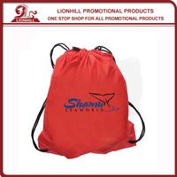promotional custom cotton drawstring cinch bag