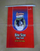 25kg plastic bag for feed packing,dog food feed sack