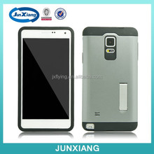 Alibaba express new product pc tpu armor kickstand case for Samsung Galaxy Note 4