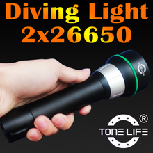 Tonelife TL2300 Diving Flashlight in LED Flashlights with Aluminum Diving Torch/Torchlight 2015