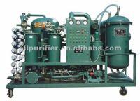 TYA vacuum lube oil filtering machine/waste engine oil processing