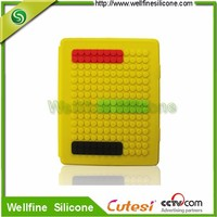 High quality smart silicone cover for tablet pc case