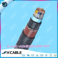 Steel/aluminum tape armoured 25pr 50pr 2*0.5mm 100pr copper telephone cable outdoor for communication