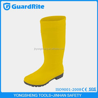 GuardRite Brand Cheap Men Clear PVC Rain Boots
