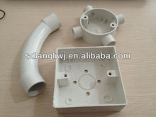 pvc pipe fittings suitable for junction box and conduite pipe