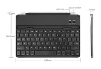 ultra thin aluminum bluetooth magnetic clips keyboard smart cover for ipad air