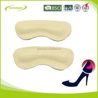 Foot pads Genuine Leather Pig Grain Heel Grips Liners for Loose Shoes Protector Ladies High Heels Grippers