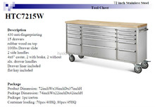 "72"" wooden top Tool Storage with wheels"