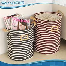 Good Quality Printed Foldable nylon mesh laundry basket/ laundry bag