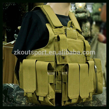 Black Hawk High Quality Density Nylon Vest ,Miltary combat tactical vest Protective vest made in China