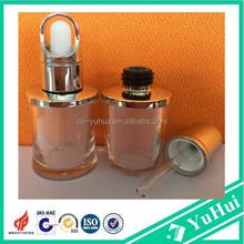 acrylic essential dropper bottle ,skin care dropper bottle,acrylic essential oil bottle for beautiful lady