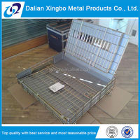 high quality wire moving basket with wheels