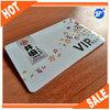 Hot!!! offset printing PVC custom F08 smart card with grey signature stripe