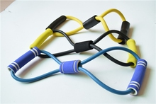 new strong rubber stretch resistance bands, custom resistant band, latex resistant band 8 shape