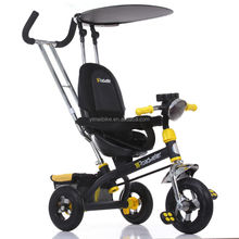 Children 3 wheel tricycle bicycle bike / metal baby tricycle with tralier / double seat children tricycle price