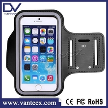 For apple iphone 6 sports armband, mobile phone Sport Armband Case with Key Holder and Headphone pocket