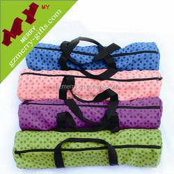 Colorful durable waterproof yoga mat bag / wholesale yoga tote bag