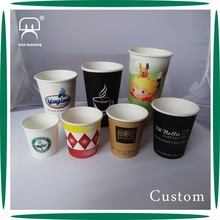 Best quality disposable single wall coffee paper cup