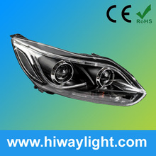 Bi xenon Projector Lens headlight assembly with DRL for Ford Focus