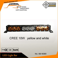 white/yellow led light bar 12 volt led bar lights 90w led bar light for car