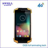 NFC android phone MSM8916 quad core 5inch 1GB+8GB memory dual sim rugged samrtphone X9