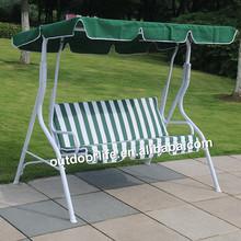 Cheap outdoor promotion swing, garden steel jhula swing chair, ikea swing chair