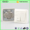 Made in China Plastic Flush wiring push button switch 220v