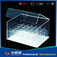 4 tier square acrylic cake stand