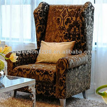 Classic fabric living room single seat sofa