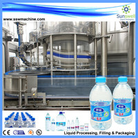 Washing,Filling and Capping 3 in 1 Mineral/Pure Water Filling Line/Plant