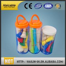 smooth application UL SGS nylon 66 elastic self-locking nylon cable tie