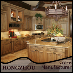2015 Alibaba All Wood China Antique Kitchen Cabinets For Sale