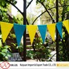 HOT!HOT!HOT!6 '' Colorful Felt Triangle bunting for birthday party decoration