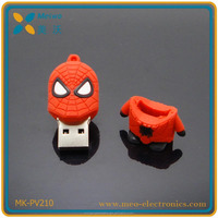 New design custom usb superman , batman , spider-man usb stick