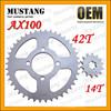 for Suzuki AX100 Motorcycle Parts Motorbike Sprocket
