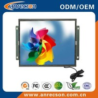 CE FCC IS09001 17 inch open frame touch LCD monitor for automation control/ATM/kiosk/vending/POS/gaming machine