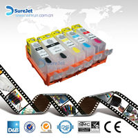 Wholesale ! ! pgi-125 cli-126 ink cartridge for canon suit for Latin America with auto reset chip