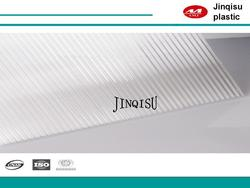 8mm hollow twin wall Roofing Material Polycarbonate Sheet for awning
