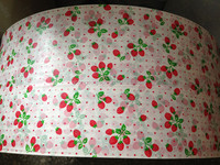 fresh strawberry wrapping tissue silk paper for clothes packing