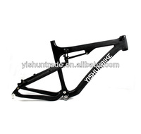 "2014 YISHUNBIKE 26"" dual suspension MTB carbon bike frame super light BSA system carbon mountain bike frame YS-039"