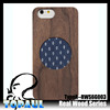 High quality custom real wooden phone power case cover for iphone 5,5s,6