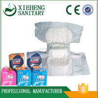 3D Leak Guard Non-woven High-Absorbent Disposable Adult Diaper for Daily Care