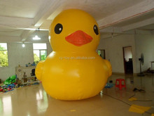 4m Height inflatable yellow duck, giant inflatable promotion duck, inflatable duck