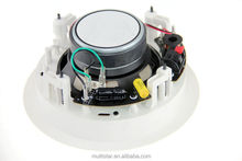 100V Professional Speaker RoHs Material Fire Retardant White Paint Sound Audio System for Concert and Dancing Club Use